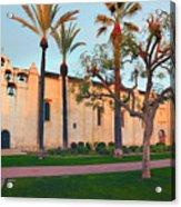 San Gabriel Mission California Acrylic Print