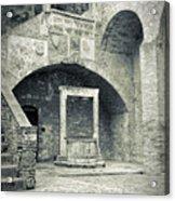 San Gimignano - Medieval Well  Acrylic Print