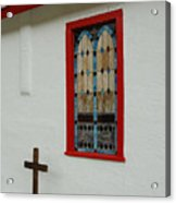 San Iglesia Church Window Acrylic Print