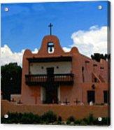 San Ildefonso Pueblo Acrylic Print