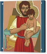 Retablo De San Jose Obrero 301 Acrylic Print