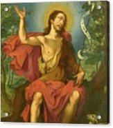 San Juan Bautista Acrylic Print