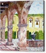 San Juan Capistrano Courtyard Acrylic Print