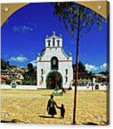 San Juan Chamula Church In Chiapas, Mexico Acrylic Print