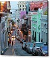 San Juan Evening Glow Acrylic Print