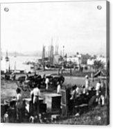 San Juan Harbor - Puerto Rico - C 1900 Acrylic Print