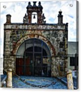 San Juan Mission Church Acrylic Print