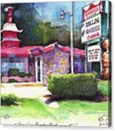 San Lin Garden Restaurant Acrylic Print