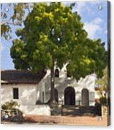 San Luis Mission Acrylic Print