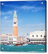 San Marco Square Waterfront Acrylic Print