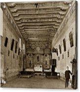 San Miguel Mission California Circa 1915 Acrylic Print