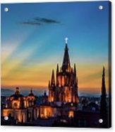 San Miguel Sunset Acrylic Print