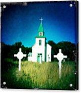 San Patricio Church IIi Acrylic Print