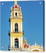San Pedro Church Tower Acrylic Print