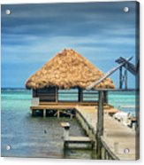 San Pedro La Isla Bonita Acrylic Print