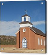 San Rafael Church Acrylic Print