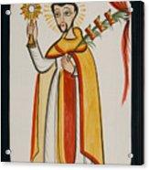 San Ramon Nonato - St. Raymond Nonnatus - Aoran Acrylic Print