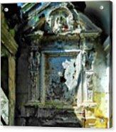 San Rocco Chapel Ruins - Cappella San Rocco Rovine Acrylic Print