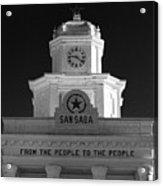 San Saba Couthouse Acrylic Print