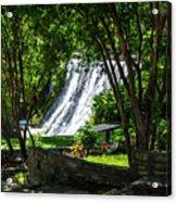 San Saba Waterfall Acrylic Print