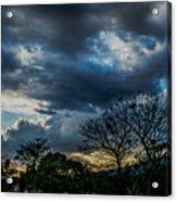 San Salvador Sunset 5 Acrylic Print