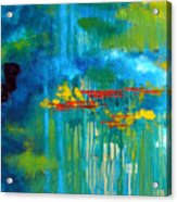 Sanctuary Abstract Painting Acrylic Print