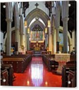 Sanctuary Christ Church Cathedral 1 Acrylic Print