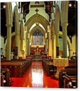 Sanctuary Christ Church Cathedral 2 Acrylic Print