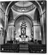 Sanctuary - Mission Concepcion No 2 Acrylic Print
