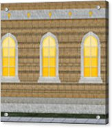 Sanctuary Windows And Walls Acrylic Print