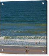 Sand And Surf Acrylic Print