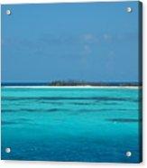 Sand Bar Island Acrylic Print