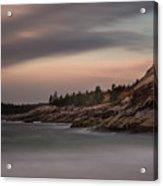 Sand Beach, Acadia Acrylic Print