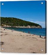 Sand Beach Acadia National Park Acrylic Print