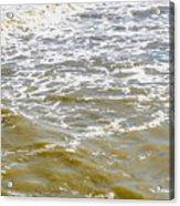 Sand Beach And Wave 4 Acrylic Print