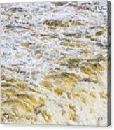 Sand Beach And Wave 5 Acrylic Print