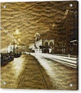 Sand City Acrylic Print