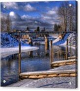 Sand Creek Winter Acrylic Print