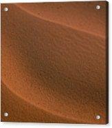 Sand Curves Acrylic Print