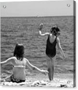 Sand Dancers Acrylic Print