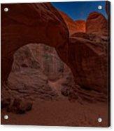 Sand Dune Arch II Acrylic Print