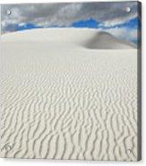 Sand Dune Magic 4 Acrylic Print
