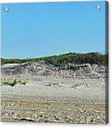 Sand Dune Panorama  Acrylic Print