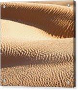 Sand Dunes 2 Acrylic Print