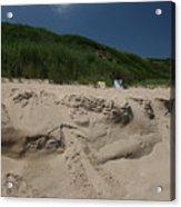 Sand Dunes II Acrylic Print