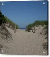 Sand Dunes Iv Acrylic Print