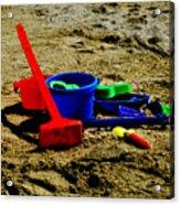 Sand Fun 1 Acrylic Print