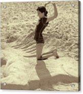 Sand Horse Acrylic Print