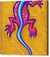 Sand Lizard Acrylic Print
