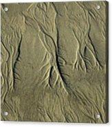 Sand Pattern Acrylic Print